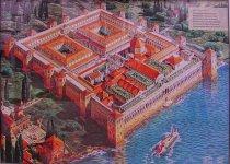 Istana Kaisar Diocletian dari Romawi sekitar abad IV M.jpg